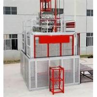 Quality flexible double cages construction hoist industrial rack and pinion elevators for sale
