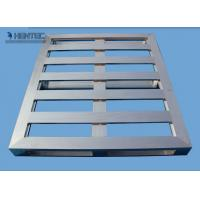 Quality Anodize / Powder Painted Aluminum Pallets , metal pallet for warehouses for sale