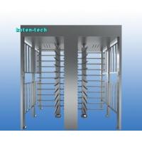 Quality 2 Lane Full Height Turnstile Gate Electronic Control 24 Month Warranty for sale