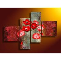 Quality flower painting lotus print painting for sale