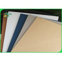 Hard Stiff Large Grey Chipboard Sheets / Grey Board Paper For Gift Box