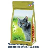 China Pet Treat Food Pouch BAGS,Bath Salts Fishing Baits Garden & Building supplies STAND UP POUCHES SIDE GUSSET BAGS FLAT BOT on sale