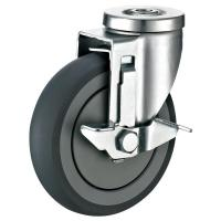 """Quality Medium Duty Metro Carts Casters , Hollow Kingpin Swivel Caster 1/2"""" for sale"""