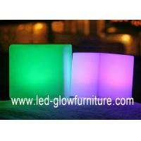 China Safety and energy saving outdoor led bar furniture mood cube with 320 degree widely lighting on sale