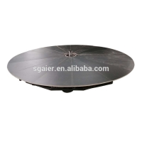 Quality Electric Rotating 1000kgs/m2 10m Motorized Turntable Display for sale