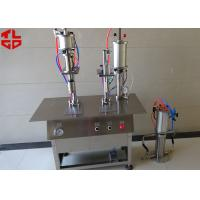 Quality Semi Automatic Aerosol Spray Paint Filling Machine Pneumatic Power for sale