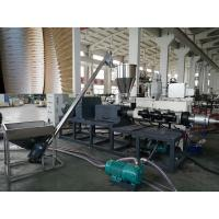 Buy cheap Double / Four Plastic Pipe Extrusion Machine , PVC Pipe Extrusion Line from wholesalers