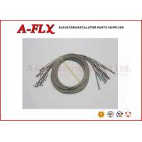 Quality Elevator Central Opening Door  Elevator Part 2500mm Wire Rope Stainless Steel for sale