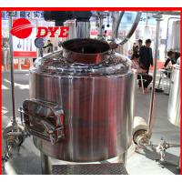 Buy SUS304 / SUS316 Beer Brewing Tanks Commercial High Precision at wholesale prices