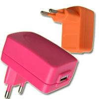 Quality 12W Colorful USB Nimh Battery Charger 200MA - 2.1A , Wall Mount Type for sale