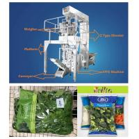 Quality Salad Vegetables Automatic Food Packing Machine Multiheads Weighing High Speed for sale