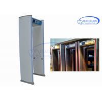 Quality Capture Picture 24 Zones Walk Through Metal Detector With 255 Level Sensitivity for sale