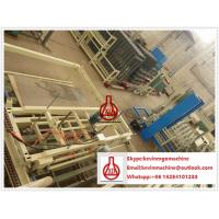 75mm Thick Wall Panel Fiber Cement Board Production Line for Structure Building Partition