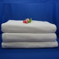 Quality Thick White 70x150cm Hotel Bath Towels for sale