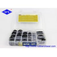 Quality High Temp Assorted O Ring Kit CATERPILLAR Hydraulic Cylinder Seals Box for sale