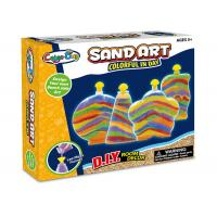 Quality Colorful Glitter Sand Arts And Crafts Toys For Kids Age 5 W / 4 Bottles for sale