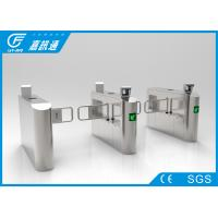 Quality Office Building Swing Gate Turnstile Stainless Steel Housing 50 Person / Min for sale