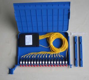 Quality 1*16 FC/upc Fiber Optical PLC Splitter for sale