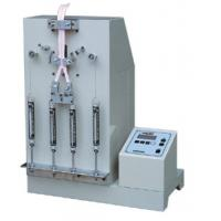 Quality 75mm LCD Suitcase Tester , 1/4HP Electric Zipper Pull Reciprocating Fatigue Test Machine for sale