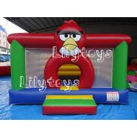 Quality angry bird inflatable jumping bouncers , Commercial Bouncers Inflatable for sale