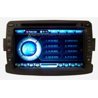 Single Din MP3 Renault DVD Player Adjustable Screen for Duster ST-A157