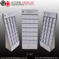 Quality Floor display stand dividing wall with boxes for sale