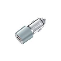 Quality Dual Port Car Charger USB A Smart IC Universal 5V4.8A, 24W Car Charger for sale
