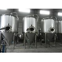 Quality Home Brew Conical Fermenter Equipment , Micro Beer Brewing Equipment for sale