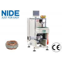 Quality Single side Inuction Motor Stator Winding Lacing Machine / Lacing speed 0.7S/slot for sale
