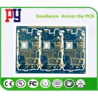 Quality Blue Solder Mask PCB Printed Circuit Board Fr4 Base Material High Precision Prototype for sale