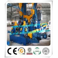 China Light Steel Automatic H Beam Production Line , H Beam Combination Welding Machine for sale