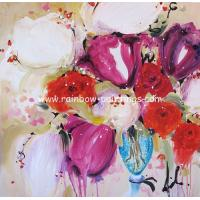 Quality flower painting modern painting wall art for sale