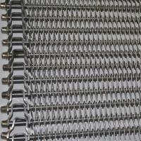 Quality Balanced Wire Mesh Conveyor Belt With High Temperature Resistance SGS for sale