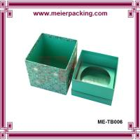 Quality Christmas Gift Paper Packaging For Candle/Elegent Candle Paper Box with Insert ME-TB006 for sale