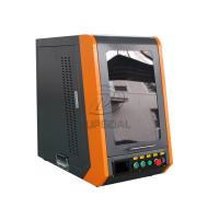 Buy Closed Type 20W 110*1100mm Fiber Laser Marking Machine for Metal at wholesale prices