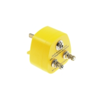Quality Yellow ABS Antistatic 1M Resistor ESD Boding UK Plugs for sale