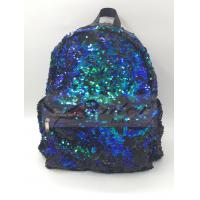 Buy cheap Sequin Backpack, Woman Dazzling Sequin Bag, Reversible Sequins School Backpack from wholesalers