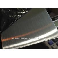 Quality NO.6 / Oil Hairline Stainless Steel Surface Finish 304 SS Sheet Coil Customized for sale