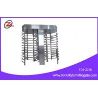 Quality Dual Channel Full Height Turnstile For Airport / School Or Govement for sale