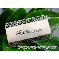 Buy cheap Metal Silver Card from wholesalers