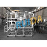 Buy Customized Color  Alimak Technology Construction Material Hoist With Figured Aluminum Plate at wholesale prices