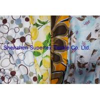 Quality Reactive Print Custom Cotton Fabric / Custom Printed Cloth 72GSM for sale