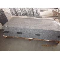 Quality Anti Slip Outdoor Stone Stair Treads , G603 Granite Natural Stone Garden Steps for sale