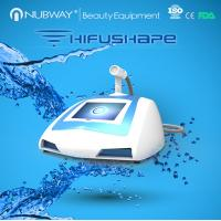 Quality new arrival!! NUBWAY body slimming ultrasound portable machine HIFUSHAPE for sale for sale