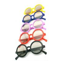 Quality RGCP7011 OEM lightweight women purple color Plastic Circular Polarized 3D glasses for 3D projector for sale