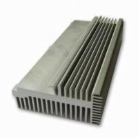 Buy Clear 6063-T5 Aluminum LED Heat Sink Extrusion Profiles With Tapping / Stamping at wholesale prices