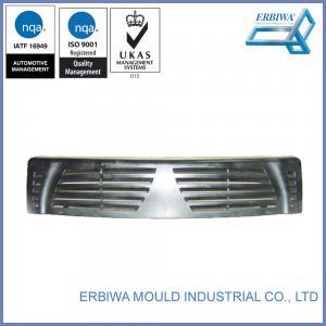 Quality Plastic Car Spare Part Custom Injection Molding Black Exterior Trim Parts for sale