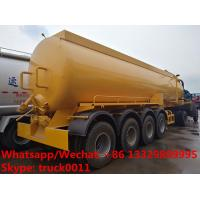 Quality 2018s high quality and competitive price customized CLW brand 4 axles 30,000Liters vacuum tank semitrailer for sale, for sale