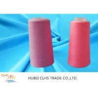 Quality High Strength Ring Twist Dyed Polyester Yarn Smooth Surface Well Sewing Performance for sale