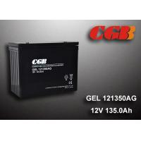 Buy cheap 12V 135AH AGM Gel Lead Acid Battery , Energy Storage Battery For Solar Wind Application from wholesalers